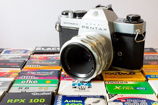 Camera, Analog, Pentax, Old Camera, Photograph