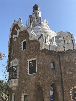 Barcelona, Parc Güell, Gaudi