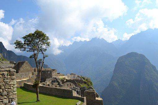 Peru, Machu, Picchu, Andes, Inca, Peruvian, Heritage