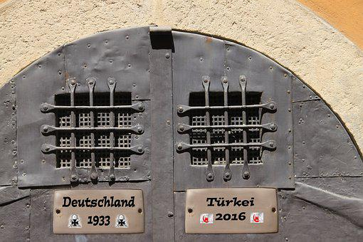 Prison, Erdogan, Hitler, Comparisons, Prison Doors