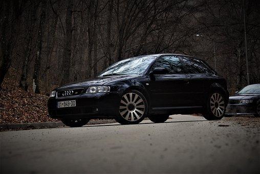 Audi, Car, S3, Transportation, Driving, Dealer, Show
