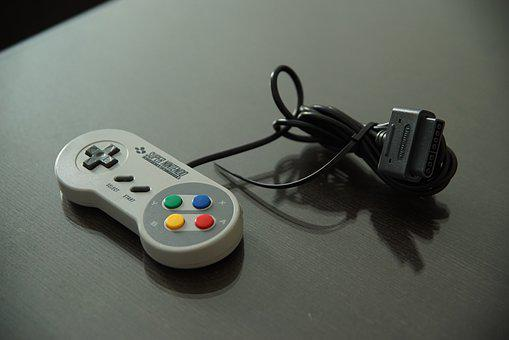 Video Game, Play, Controller, Nintendo, Switch, Snes