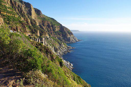 Scenic Drive, Chapman's Peak, South Africa, Cape Town