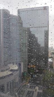 Rain In The City, Canton, Static