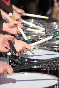 Drum Line, Marching Band, Drumstick, Percussion, Stick