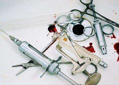 Surgery, Instrument, Blood, Injection