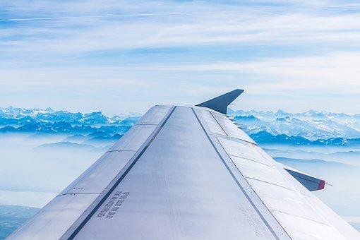 Aircraft, Mountains, Switzerland, British Airways