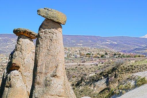 Cappadocia, Three Beauties, Urgup