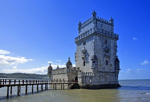 Lisbon, Portugal, Torre De Belém, Tower, Belem