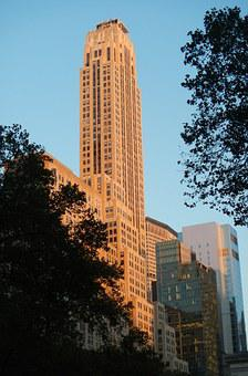 New York, 5th Avenue, Skyscraper, Building, Landmark