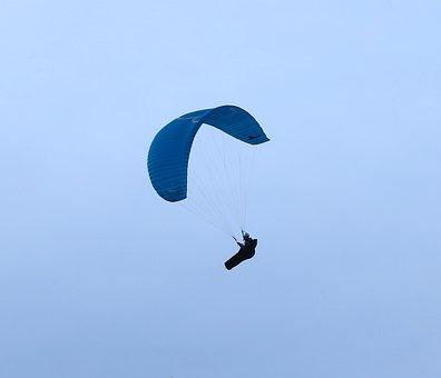 Paragliding, Screen, Wind, Drafts, Air, Himmel