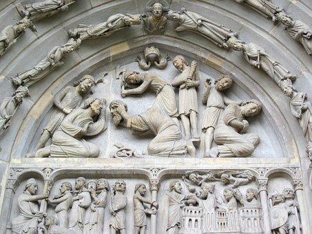 Basilica Of St Denis, Tympanum, Voussoirs, Portal
