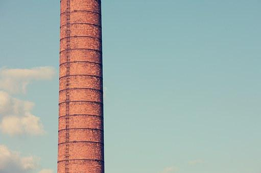 Chimney Pipe, Chimney, Tube, Pollution, Blast Furnace