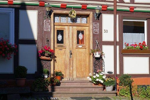 Door, Entrance Door, Input, House Entrance, Front Door