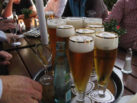Beer, Tray, Draught