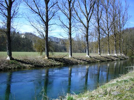 Beaver Tracks, Brenz, Eselsburg Valley, Swabian Alb