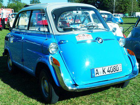 Bmw, Isetta, Isetta 600, Four Seater, Snogging Ball