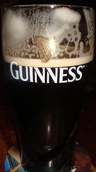 Guinness, Pint, Beer, Glass, Alcohol, Liquid, Lager