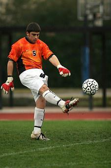 Soccer, Football, Goalie, Goal Tender, Goal Keeper