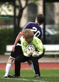 Soccer, Goal Tender, Football, Goalie, Sport, Tender
