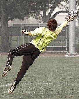Soccer, Football, Soccer Player, Goal Keeper, Goalie