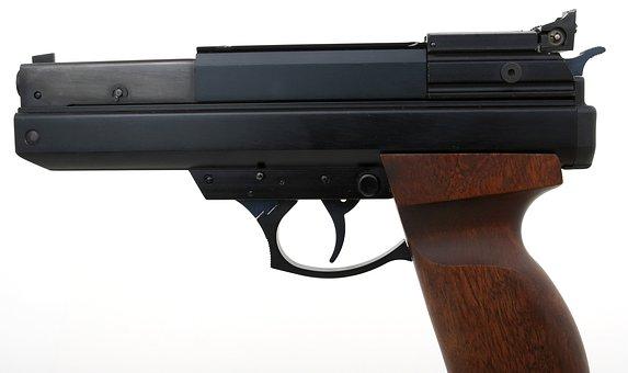 Gun, Ammunition, Firearm, Handgun, Pistol, Protection