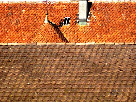 Architecture, House Roofs, Clay Tiles