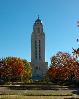 Nebraska, Capital, State, Corn Fed, Husker State, City