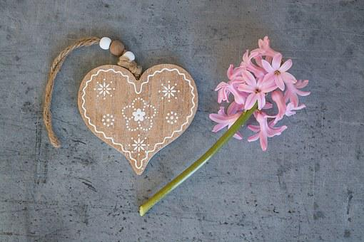Heart, Wooden Heart, Love, Symbol, Welcome, Deco
