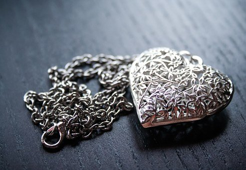 Heart, Love, Jewellery, Silver, Valentine's Day, Luck