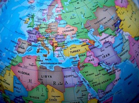 Globe, World, Map, Maps, Europe, The Globe, Earth