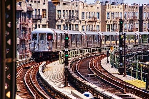 New York, 207st, Metro, S Bahn, Seemed, America