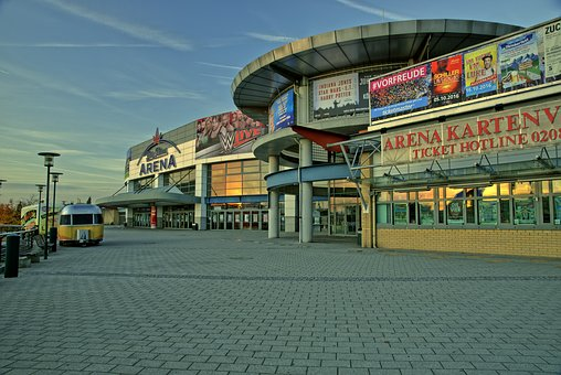 Hall, Arena, Centro, Oberhausen, King, Mushroom, Event
