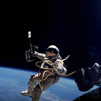 Space, Nasa, Astronaut, Suit, Pack, Oxygen, Working
