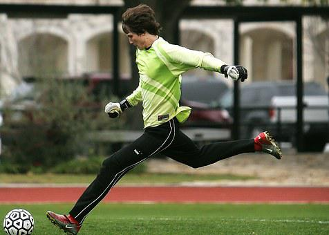 Soccer, Goal Keeper, Player, Kick, Game, Playing, Sport