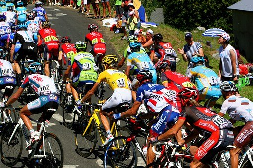 Tour De France, Yellow Jersey, Polka Dot Jersey