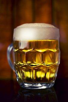 Beer, Glass, Drink, Jug, Pub, Bar, Foam, Lager, Alcohol