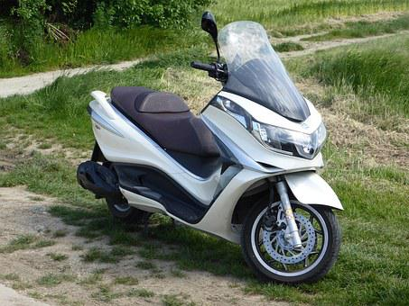 Motorcycle, Moped, Roller, Two Wheeled Vehicle, Vehicle