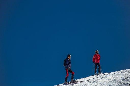 Ski, Skiers, Ski Area, Skiing, Winter, Break, Ski Run