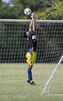 Soccer, Goalkeeper, Save, Soccer Ball, Soccer Match