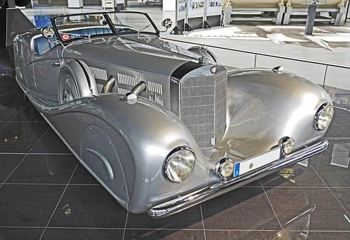 Mercedes 500 K, One Of A Kind, Special Model