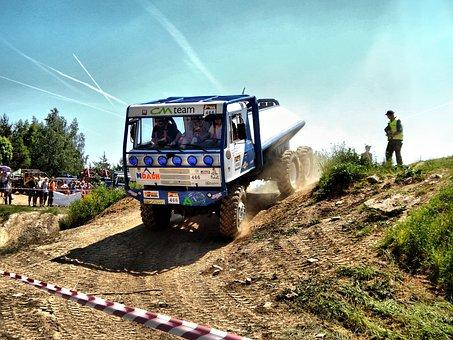 Lorry, The Attempt, Pískovna, Tankodrom –, Blue