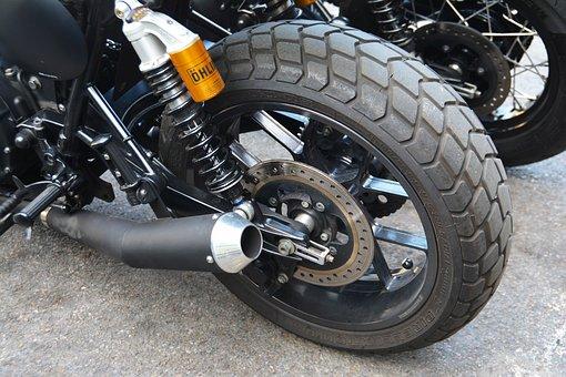 Wheel, Motorbike Tire, Motorbike, Tire, Bike, Speed