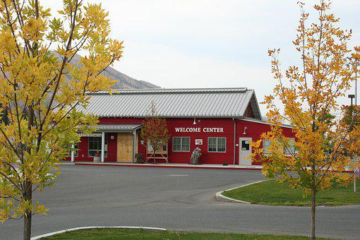 Visitor Center, Welcome, Autumn, Visitor, Center