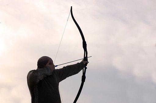 Archer, Arrow, Man, Bow, Aim, Weapon, Hunter, Target