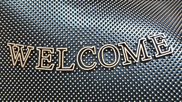 Welcome Mat, Welcome, Door Mat, Mat