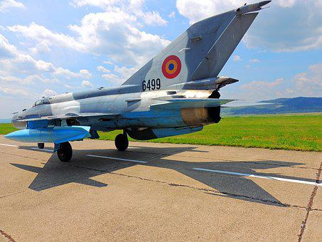 Mig 21 Lancer, Jet, Supersonic, Wings