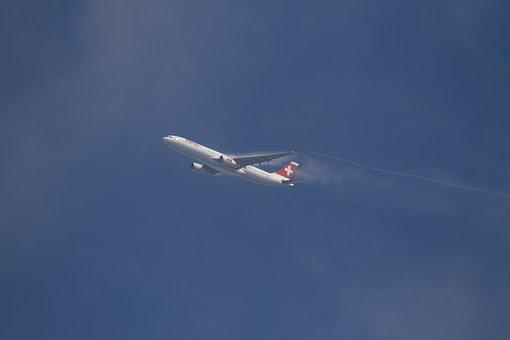 Aircraft, Start, Turbulence, Rise, Airliner