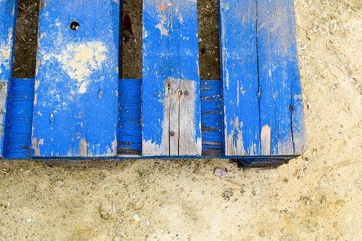 Range, Blue, Area, Colorful, Painter