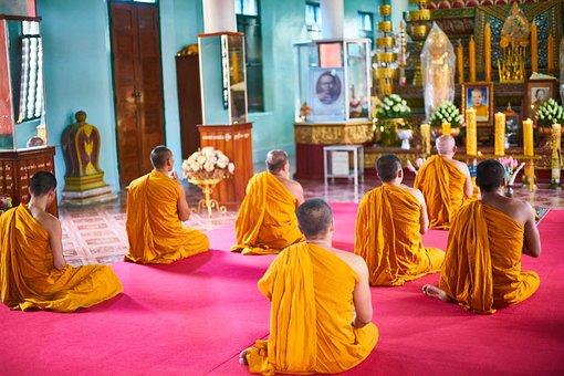 Asian, Cambodia, Buddhist, Buddhism, Faith, Priest